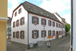 Der Ursprungsbau des Verwaltungsgebäudes des Bistums Speyer stammt aus dem Jahr 1700
