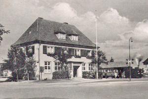 """So sah der Bahnhof in Bielefeld-Jöllenbeck in den 1930er Jahren aus <span class=""""bildnachweis""""></span>"""