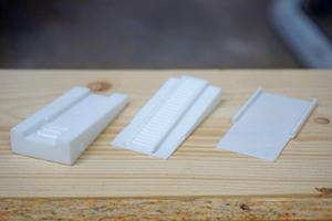 Dieser Prototyp aus dem 3D-Drucker kommt dem Serienmodell schon recht nah