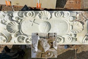 """… das durch die Sächsischen Sandsteinwerke in Sandstein gehauen wurde<span class=""""bildnachweis"""">Foto: IPROconsult</span>"""