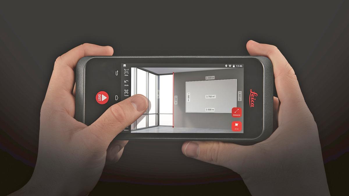 Laser Entfernungsmesser Cad : Echtzeit 3d messung im foto bauhandwerk