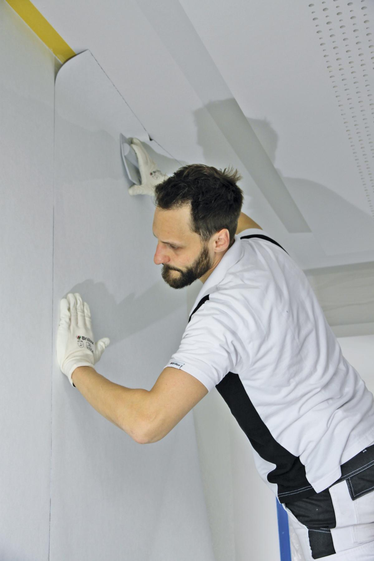 whiteboard als wandbeschichtung - bauhandwerk