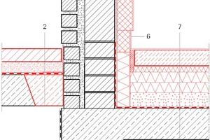 Klassenzimmer Detail Sockel  zur Terrasse, Maßstab 1:12,5 Zeichnung: Pfeiffer . Ellermann . Preckel Architekten und Stadtplaner