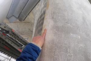 Schäden am ansonsten qualitativ hochwertigen Beton waren eher oberflächlich …