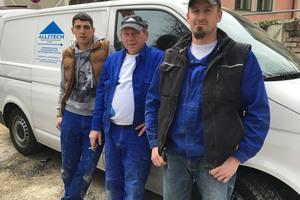 Das Fachhandwerker-Team der Allitech Allgem GesmbH aus Wien führte die Sanierungsmaßnahme zur Zufriedenheit des Eigentümers aus.
