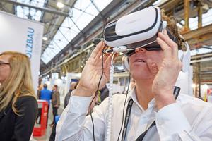 """Oben: Blick in das Jahr 2019, in dem die Knauf Werktage im Januar und Februar in sechs deutschen Städten Station machen werden – und Blick in die Zukunft, in der auch auf den Werktagen digitale Lösungen einen Schwerpunkt bilden werden<span class=""""bildnachweis"""">Foto: Knauf / Sigi Lustenberger</span>"""