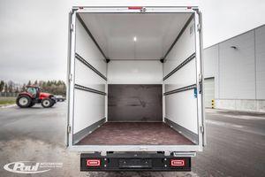 Dank des hohen Laderaumvolumens lassen sich auch sperrige Güter problemlos transportieren.