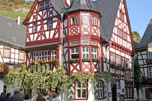 Einen weiteren zweiten Preis gab es für das 1392 in Bacharach erbaute Alte Haus Fotos: M.L. Preiss / Deutsche Stiftung Denkmalschutz