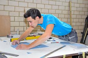 Manuel Söhner aus Titisee-Neustadt ist Deutschlands bester Fliesen-, Platten- und Mosaikleger