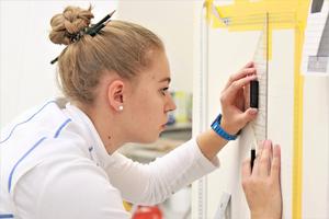 """Bei den Malern und Lackierern gewann mit Jessica Jörges aus Dreieich eine Frau den Bundesleistungswettbewerb<span class=""""bildnachweis"""">Foto: Mega</span>"""