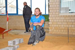 Florian Klein aus Babensham trug bei den Straßenbauern mit der Goldmedaille den Sieg davon
