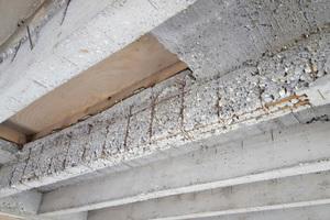 Schadhafte Decke im Gymnasium Balingen