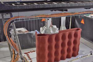 Sika bietet das komplette Produktionsverfahren für additiv gefertigte Betonbauteile aus einer Hand an