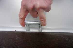 Auf der Ladefläche befinden sich 6 Sicherungsösen