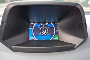 Im Eco-Modus rekuperiert das Fahrzeug besonders gut