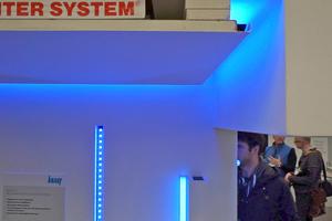 """Mit """"RiSyLUM"""" LED-Dekorprofilen von Richter Systems kann man leicht indirekte Beleuchtung mit LED umsetzen"""