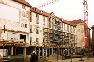 Der älteste Teil des Philosophikums, das frühere Ludgerianum, stammt aus dem Jahr 1903, nach Zerstörungen im Krieg folgten verschiedene An- und Umbauten
