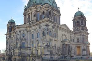Die Uferterrasse, die Treppen und die Podeste des Berliner Doms wurden saniert