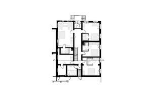 "Grundriss Erdgeschoss, Maßstab 1:200<span class=""bildnachweis"">Zeichnung: Früh Architektur</span>"
