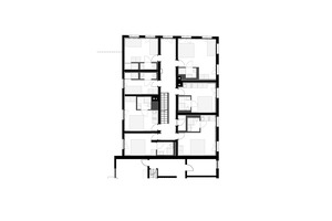 Grundriss Obergeschoss, Maßstab 1:200