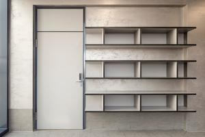 Ein Teil der im Alexbad verbauten Türen sind mit Zutrittskontrollsystemen ausgestattet, die die besonders sensiblen Bereiche des Gebäudes schützen