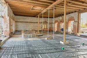 Der Sixenstadel war vor der Renovierung innen komplett offen