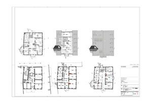Grundriss Erdgeschoss, Maßstab 1:250<br />
