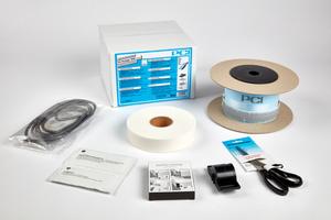 Systemkomponenten des Schallschutz-Wannendichtbandes