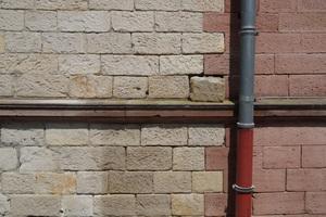 Mauerwerksdetail vor der Sanierung
