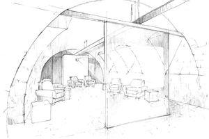 TV-Lounge im Keller