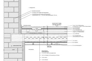 Detail der Ausführungsplanung, Maßstab 1:20