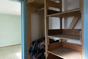Kleiderschrank im Obergeschoss<br />