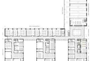 """Grundriss Erdgeschoss, ohne Maßstab<span class=""""bildnachweis"""">Zeichnungen: Swiatkowski-Suerkemper Architekten</span>"""