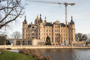 Das Schweriner Schloss ist Sitz des Landtags von Mecklenburg-Vorpommern