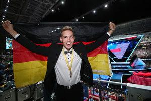Der beste Zimmermann der Welt: Alexander Bruns holte die Goldmedaille für Deutschland