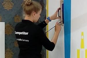 Die deutsche Wettbewerbsteilnehmerin Jessica Jörges wurde darin Dritte von 23 Teilnehmern<br />