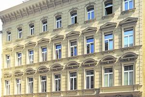 Fassade nach der Sanierung