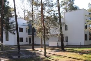 Beim Meisterhaus Kandinsky/Klee handelt es sich um ein im Grundriss fast spiegelsymmetrisches Doppelhaus<br />Fotos: Thomas Wieckhorst