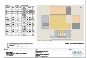 Wandabwicklung Wohnzimmer Haus Klee, Erdgeschoss, Maßstab 1:20<br />Zeichnungen: Atelier Schöne