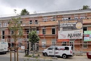 Den Rohbau des neuen Wohn- und Geschäftshauses in Bünde mauerten die Handwerker in monolithischer Bauweise aus Hochlochziegeln