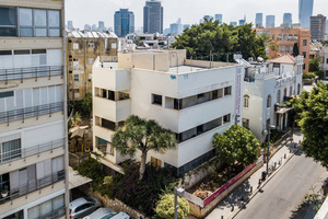 """Das Max-Liebling-Haus in Tel Aviv ist ein Beispiel für den """"Internationalen Stil"""", der in Details und stilistischen Elementen eine Weiterführung von eng mit dem Bauhaus verbundenen Ideen darstellt<span class=""""bildnachweis"""">Foto: Barak Brinker</span>"""