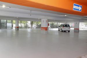 Ein weiteres Geschäftsfeld ist die Instandsetzung von Parkhäusern