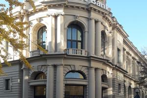 Für die denkmalgerechte Sanierung dieses ehemaligen Bankgebäudes in Essen wurde Schleiff mmit dem Bernhard Remmers Preis ausgezeichnet<br />