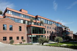 Denkmalentwicklung: Die ehemalige Druckerei Kühlen wurde saniert und zu einem Bürohaus umgenutzt