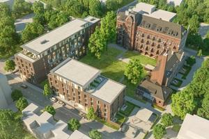 Aktuelles Projekt: Das ehemalige Kloster Guter Hirte in Aachen wird denkmalgerecht saniert, um Wohnraum für Studenten zu schaffen