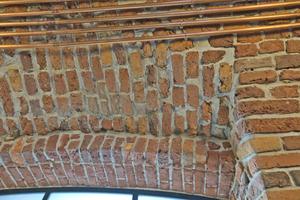Detail: Mauerwerk nach erfolgter Sanierung
