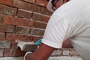 Um die richtige Sanierungsmethode zu ermitteln, wurden zunächst Musterflächen angelegt