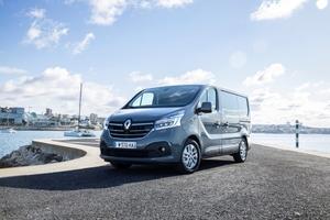 """Der Renault """"Trafic"""" ist das beliebteste Import-Nutzfahrzeug in der Klasse bis 2,8t"""