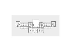 """Grundriss Kellergeschoss, Maßstab 1:850<span class=""""bildnachweis"""">Zeichnung: Staab Architekten</span>"""