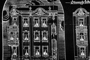 Alte Zeichnungen belegen, wie die 1904 gebaute Gründerzeitvilla ursprünglich aussah